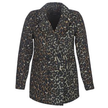 Ruhák Női Kabátok Vero Moda VMCOCOLEOPARD Barna
