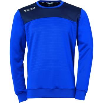 Ruhák Pulóverek Kempa Sweatshirt  Emotion 2.0 bleu/jaune