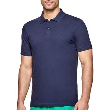 Ruhák Férfi Rövid ujjú galléros pólók Impetus 7305G05 E97 Kék