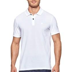 Ruhák Férfi Rövid ujjú galléros pólók Impetus 7305G05 001 Fehér