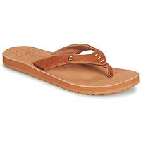 Cipők Női Lábujjközös papucsok Cool shoe COASTAL Konyak
