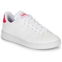Cipők Lány Rövid szárú edzőcipők adidas Originals ADVANTAGE K JU Fehér