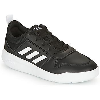 Cipők Fiú Rövid szárú edzőcipők adidas Originals VECTOR K Fekete