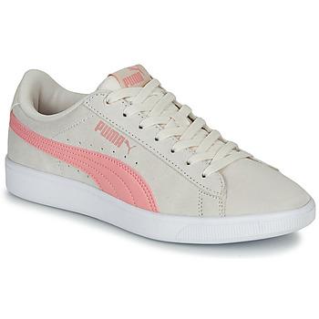 Cipők Női Rövid szárú edzőcipők Puma VIKKY WNS V2 Bézs