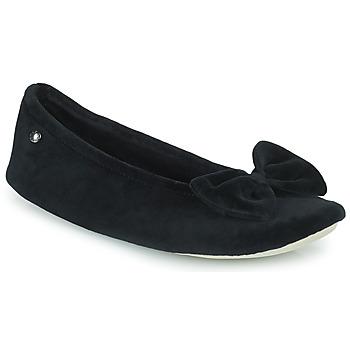 Cipők Női Mamuszok Isotoner 95810 Fekete