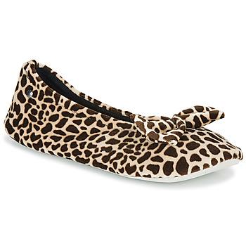 Cipők Női Mamuszok Isotoner 95991 Barna