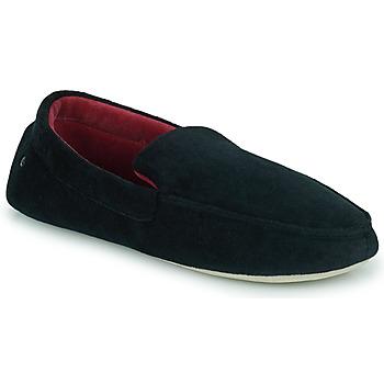 Cipők Férfi Mamuszok Isotoner 96774 Fekete