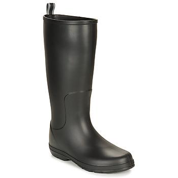 Cipők Férfi Gumicsizmák Isotoner 96523 Fekete