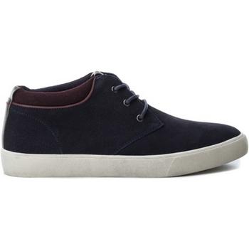 Cipők Férfi Rövid szárú edzőcipők B3D 40218 SERRAJE COMBINADO NAVY Azul marino