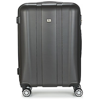 Táskák Keményfedeles bőröndök David Jones CHAUVETTO 72L Szürke