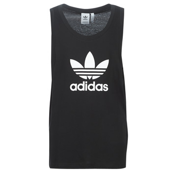 Ruhák Férfi Trikók / Ujjatlan pólók adidas Originals TREFOIL TANK Fekete