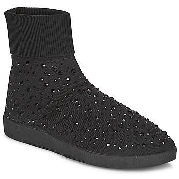 Cipők Női Magas szárú edzőcipők André BAYA Fekete