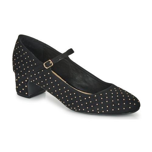 Cipők Női Balerina cipők  André LERNER Fekete