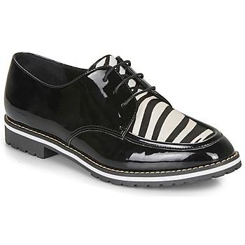 Cipők Női Oxford cipők André CHARLELIE Fekete  / Motif