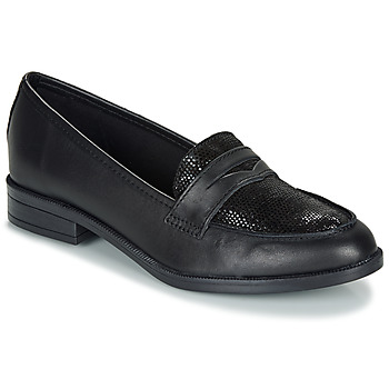 Cipők Női Mokkaszínek André EMERAUDE Fekete