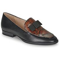 Cipők Női Mokkaszínek André LA COURTOISE Fekete