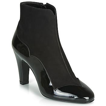 Cipők Női Bokacsizmák André LA ROMANTIQUE Fekete