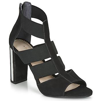 Cipők Női Szandálok / Saruk André LA  DETERMINEE Fekete
