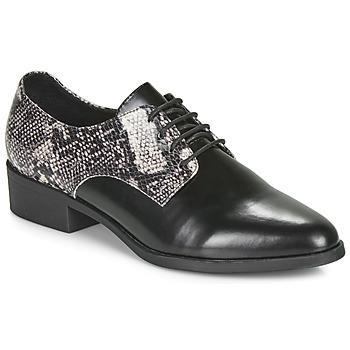 Cipők Női Oxford cipők André NOUGATINE Fekete  / Motif
