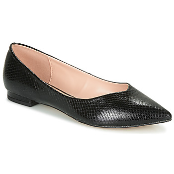 Cipők Női Balerina cipők  André LISERON Fekete  / Motif