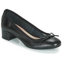 Cipők Női Balerina cipők / babák André POEME Fekete