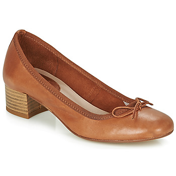Cipők Női Balerina cipők  André POEME Teve