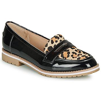 Cipők Női Mokkaszínek André PORTLAND Leopárd