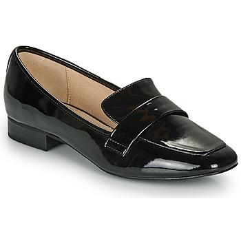 Cipők Női Mokkaszínek André LYS Fekete  / Fényes