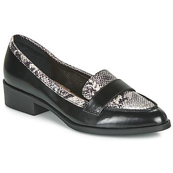 Cipők Női Mokkaszínek André NOIX Fekete
