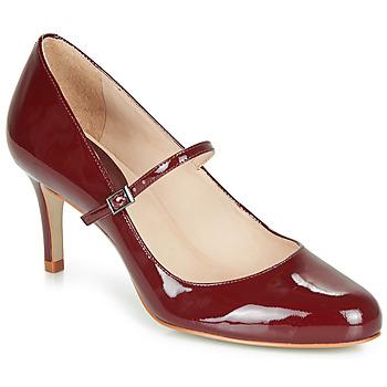 Cipők Női Félcipők André LUCIOLLE Bordó