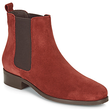 Cipők Női Csizmák André CHATELAIN Piros