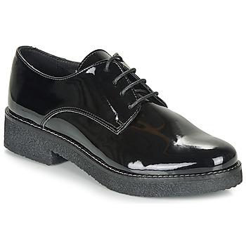 Cipők Női Oxford cipők André NANEL Fekete  / Fényes