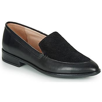 Cipők Női Mokkaszínek André NAY Fekete