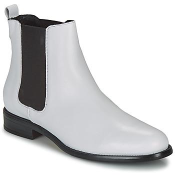 Cipők Női Csizmák André CARAMEL Fehér