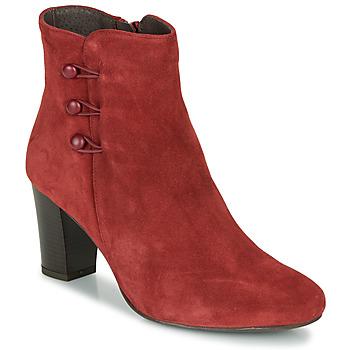 Cipők Női Csizmák André MAJESTEE Piros