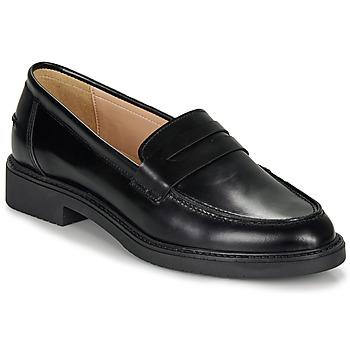 Cipők Női Mokkaszínek André NERE Fekete