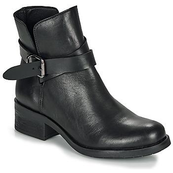 Cipők Női Csizmák André NELL Fekete