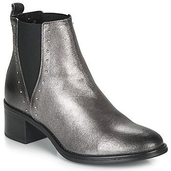 Cipők Női Csizmák André NEWBURY Ezüst