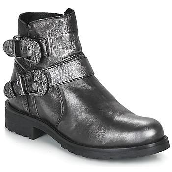 Cipők Női Csizmák André NORCROSS Ezüst