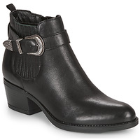 Cipők Női Bokacsizmák André MADAISY Fekete