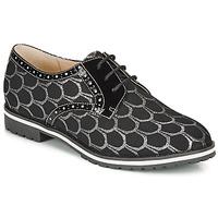 Cipők Női Oxford cipők André DERIVEUR Ezüst