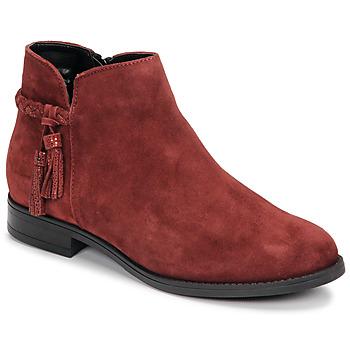 Cipők Női Csizmák André MILOU Piros