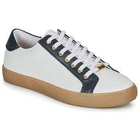 Cipők Női Rövid szárú edzőcipők André BERKELEY Fehér / Motif