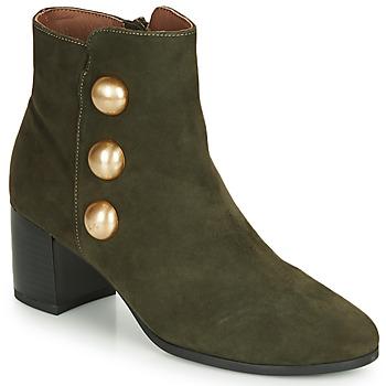 Cipők Női Bokacsizmák André NELLA Zöld