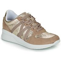 Cipők Női Rövid szárú edzőcipők André ALLURE Arany