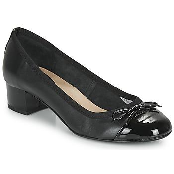 Cipők Női Balerina cipők / babák André POEMINE Fekete