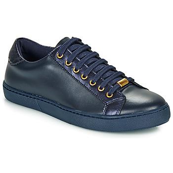 Cipők Női Rövid szárú edzőcipők André BERKELEY Kék