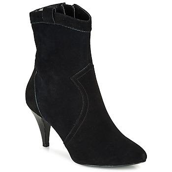 Cipők Női Bokacsizmák André EIKO Fekete