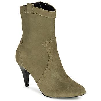 Cipők Női Bokacsizmák André EIKO Zöld
