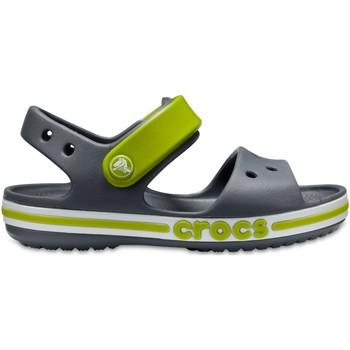 Cipők Gyerek Szandálok / Saruk Crocs Crocs™ Bayaband Sandal Kid's Charcoal